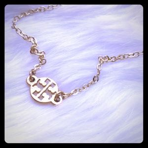 Authentic Tory Burch Charm Gold Plated Bracelet
